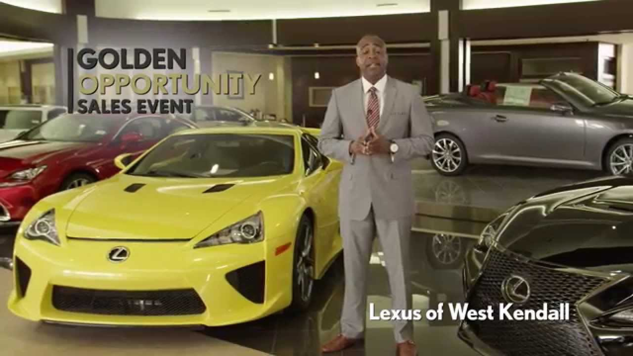 lexus of west kendall golden opportunity 2015 rx/rc - youtube