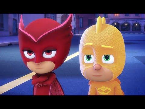 Герои в масках - Кэтбой и бригада бабочек - компиляция - мультики для детей