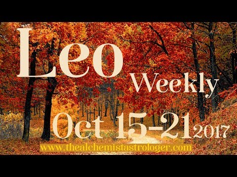 "Leo October 15-21 2017/Week 3 General Tarot Reading - ""Power behind the throne"""