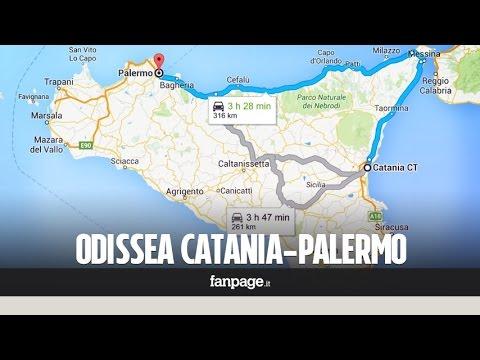 Voglio raggiungere Palermo ma è impossibile