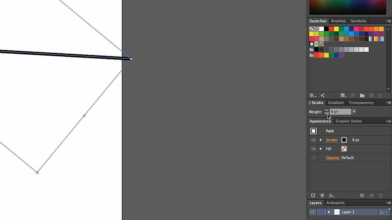 How to Change Stroke Width & Alignment | Adobe Illustrator