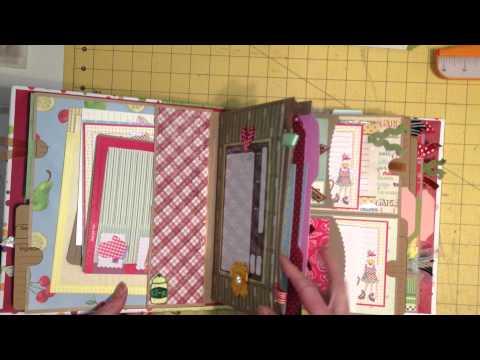 Double Paper Bag Page Mini Album