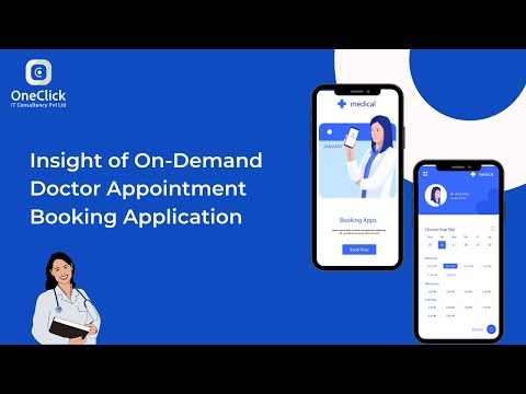 On-Demand Doctor Appointment Booking Application   OneClick IT Consultancy