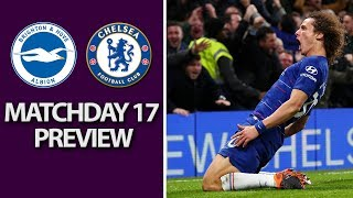Brighton v. Chelsea | PREMIER LEAGUE MATCH PREVIEW | 12/16/18 | NBC Sports