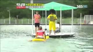 런닝맨 박태환 손연재 전지훈련레이스-7