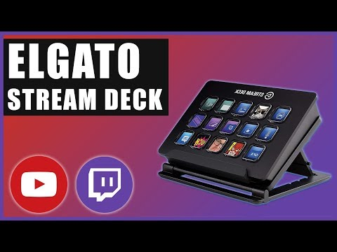 Elgato Stream Deck Guide   Tutorial 2018