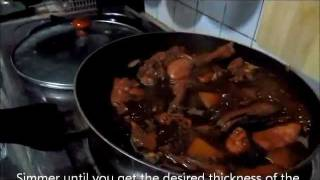 Chicken Adobo With Potatoes