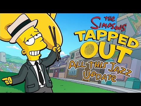The Simpsons: Tapped Out - All This Jazz Update | #1