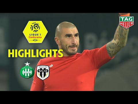 AS Saint-Etienne - Angers SCO ( 4-3 ) - Highlights - (ASSE - SCO) / 2018-19