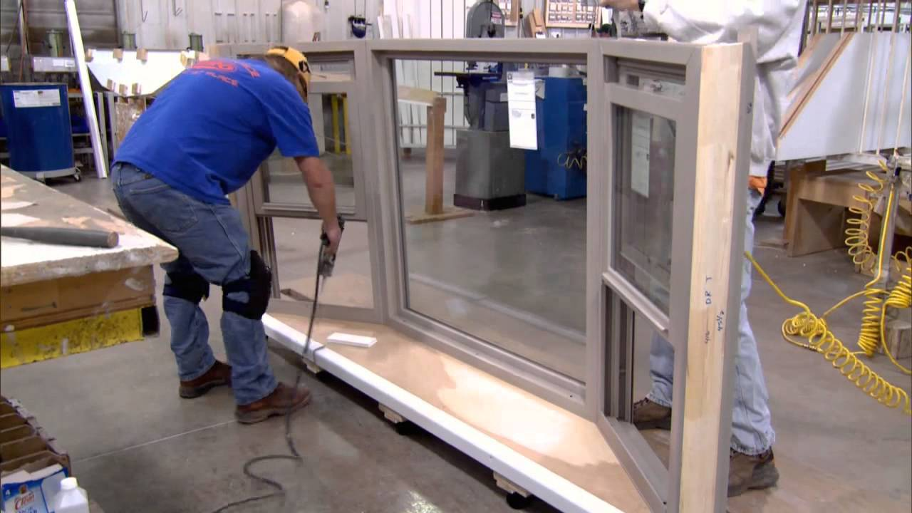 Behind the scenes bay and bow windows youtube for Decoration fenetre bow window