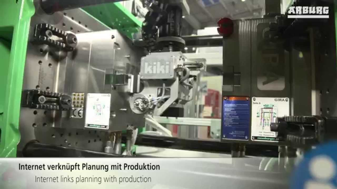 Industry 4 0: ARBURG presents entire process chain