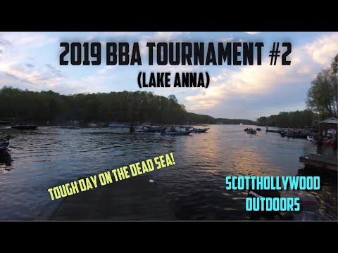 2019 BBA Bass Fishing Tournament #2 (Lake Anna)