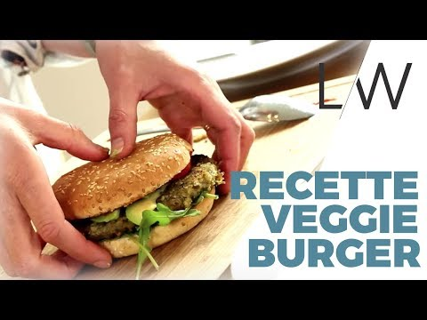 Recette Veggie Burger // Burger végétarien - Healthy Veggie Rock'n'Roll - Lucile Woodward