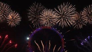 Des feux d'artifice à travers le monde pour fêter 2017