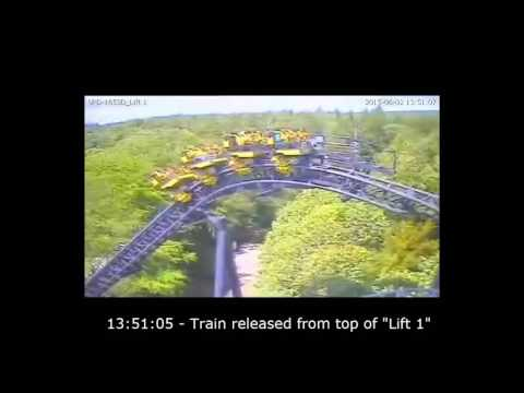 Alton Towers Smiler crash caught on camera - Full footage