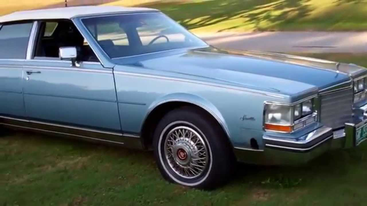 1985 Cadillac Seville Tour Youtube