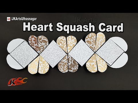 Squash Card | Valentine's day DIY Craft | JK Arts 1252