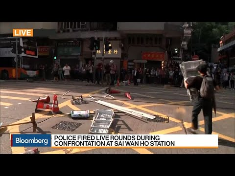 Hong Kong Police Shoot Two Teenage Protesters