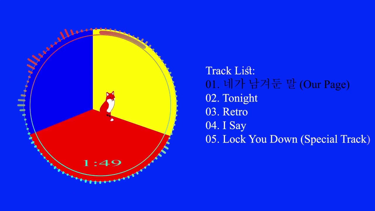 [Full Album] SHINee (샤이니) - `The Story of Light` EP 3 - The 6th Album