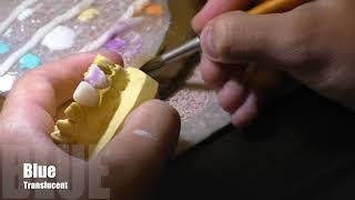 Видео с курса, нанесение керамика one bake