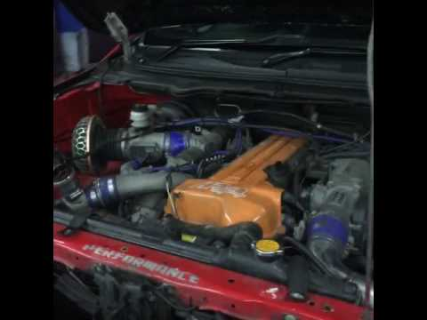 Ford Ranger T6 2JZ-GTE Antilag launch by Unichip
