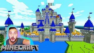 DISNEY SCHLOSS LUCKY BLOCK BATTLE MINECRAFT! Kaan muss im Castle überleben! #KaanZockt
