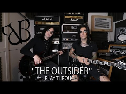 """BLACK VEIL BRIDES PERFORM NEW SONG """"THE OUTSIDER"""""""