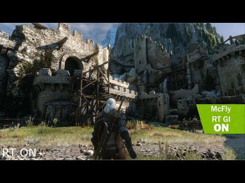 Witcher 3 : 2019 - RAY TRACING  4k - Photorealistic Graphic!! | STLM Nudel Edition