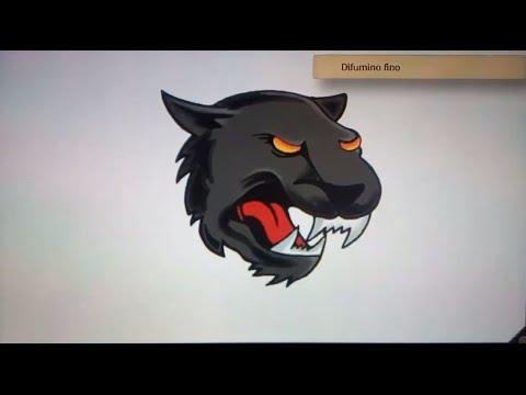 Como dibujar una pantera - Art Academy Atelier Wii U | How to draw a ...