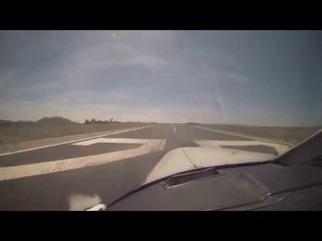 VFR Landing & Takeoff, Rwy 22 at KAVX - 15 April 2014