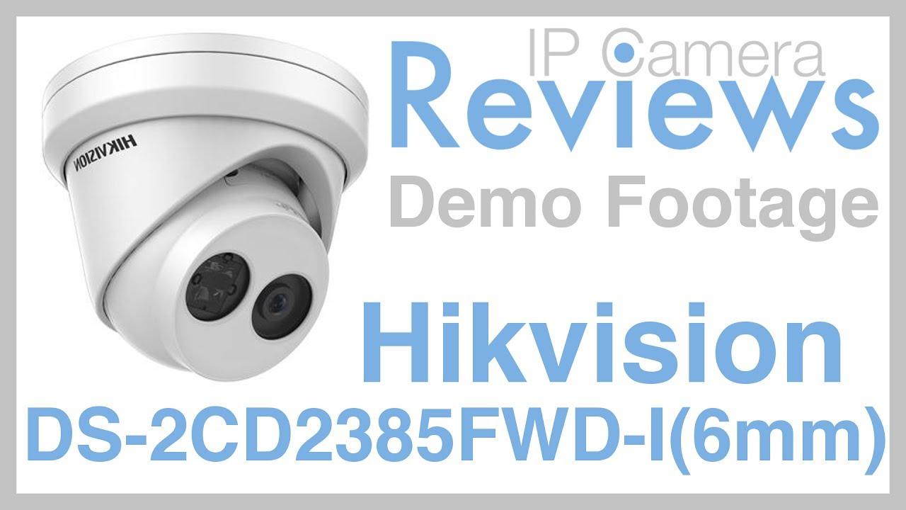 Hikvision DS-2CD2385FWD-I, 8Mp WDR EXIR Dome Camera