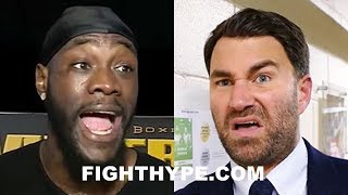 (BEEF!) DEONTAY WILDER AND EDDIE HEARN WAR OF WORDS; WHO REALLY WANTS THE ANTHONY JOSHUA CLASH NEXT?