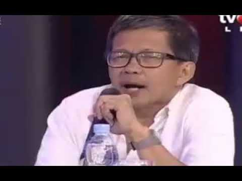 ILC ,9 01 2018 Pilkada Panas Sebelum Dimulai, Nyendir Pemimpin  ROCKY GERUNG PENGAMAT