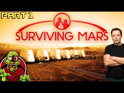 ONE GIANT LEAP FOR MANKIND - Surviving Mars - Part 1