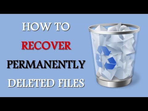 How To Recover Permanently Deleted Files | Easy Method - HowTo Do
