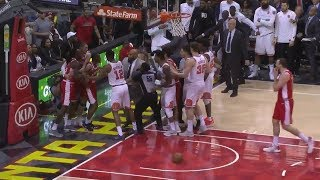 Phoenix Suns and Atlanta Hawks Get Into Team Fight During Game! Players Ejected!