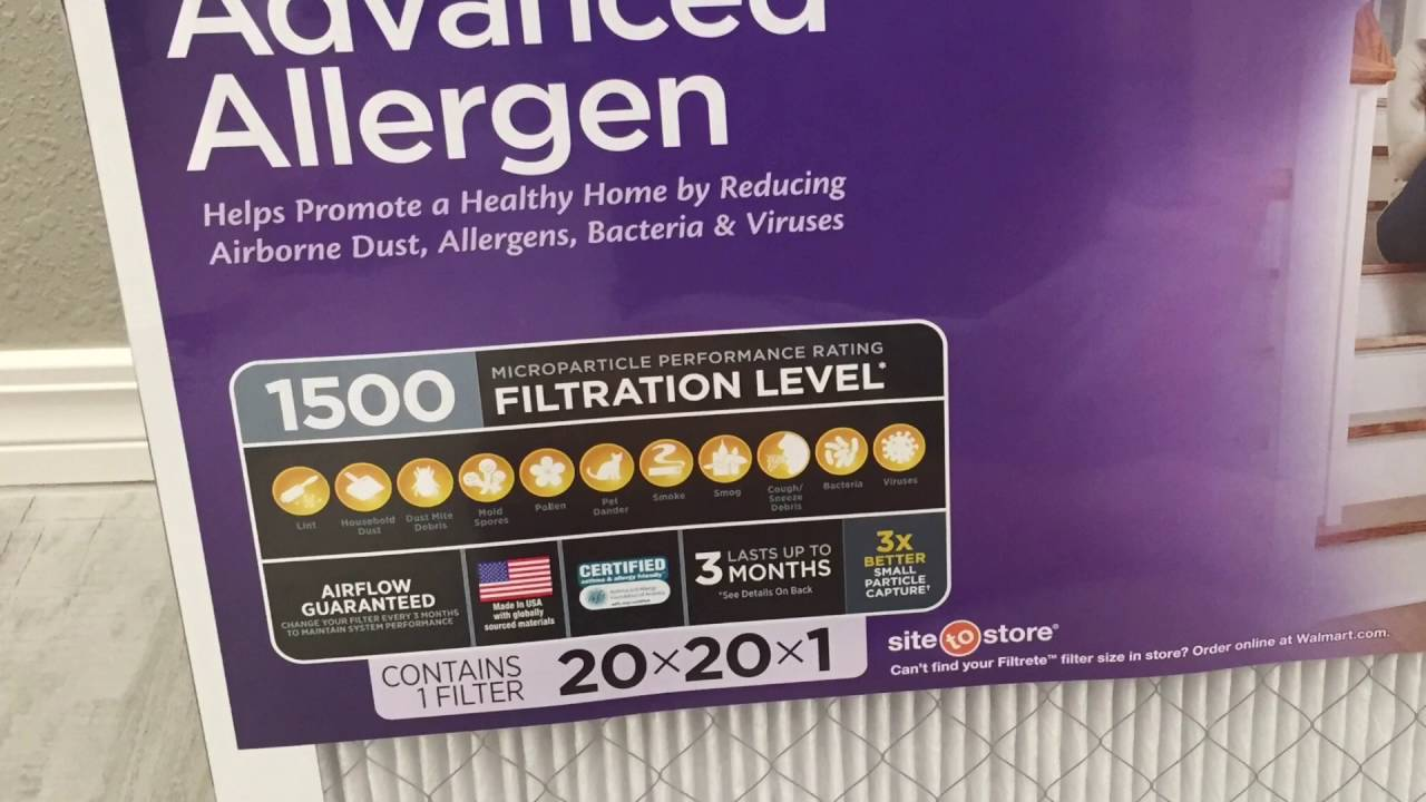 35 Advance Allergy Filter Lasko 20 Inch Box Fan Youtube