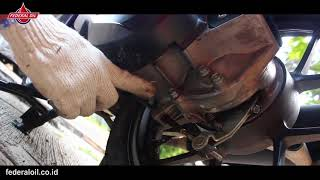 Cara Ganti Oli CVT Motor Matik
