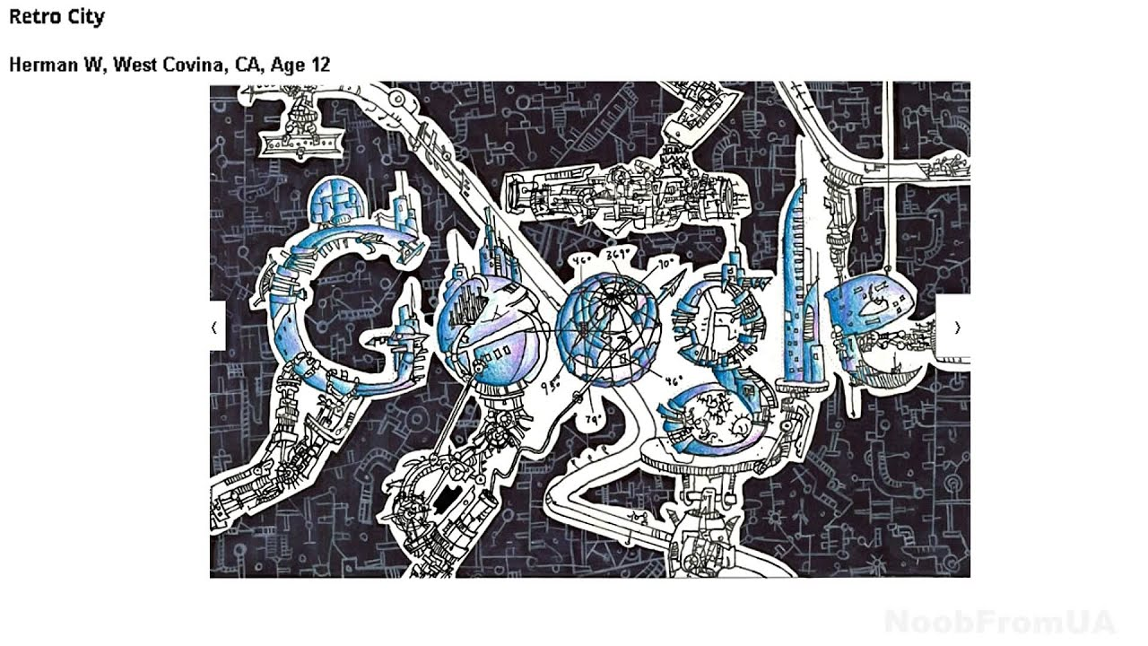 Collage Designs Doodle 4 Google 2012 Usa State Winners Youtube