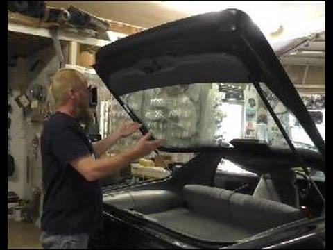 Replace 1982 1992 Trunk Hatch Lift Struts Camaro