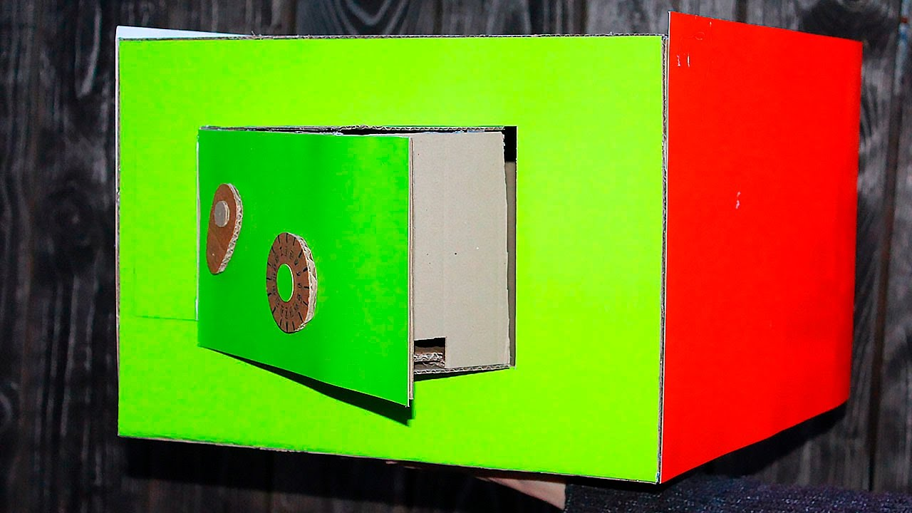 Как в домашних условиях сделать сейф