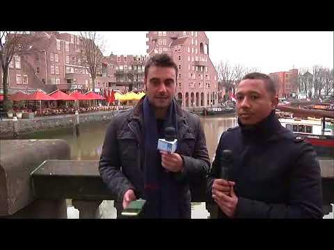 Champions League, Feyenoord-Napoli: il prepartita dal centro di Rotterdam (6-12-2017)