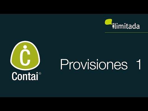 Contai® - Asientos automáticos: Provisiones 1