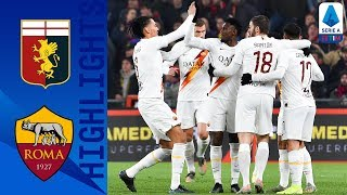 Genoa 1-3 Roma | Genoa Remain In Relegation Zone After Dominant Roma Victory | Serie A TIM
