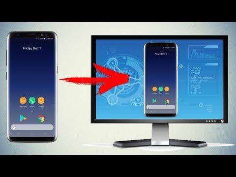 Как передать изображение с телефона на компьютер \Управление Android устройством с ПК