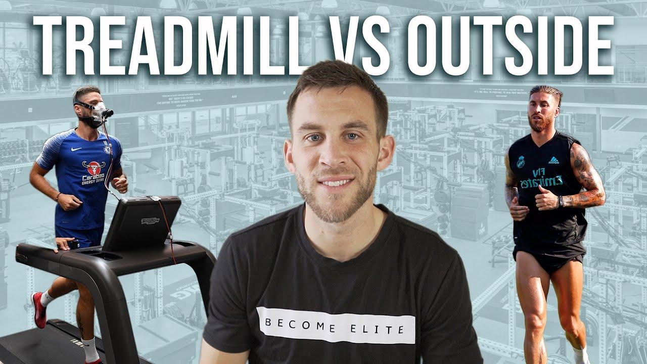 Is Running on the Treadmill Effective Fitness for Footballers?   Treadmill vs. Running Outside