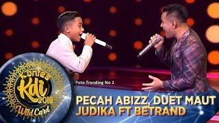 Download PECAH ABIZZ! Duet Maut Judika Ft Betrand [JIKALAU KAU CINTA] - WildCard KDI (19/8)