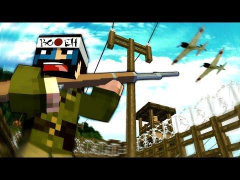 PRISONERS OF WAR! - Minecraft WW2 (Heroes & Generals) - S6E8