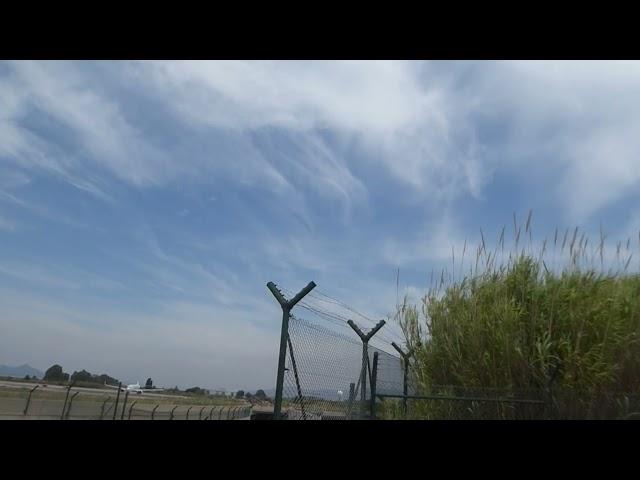 Els cirrus, els núvols alts per excel·lència - Aeroport del Prat - Juny 2021