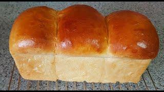 집에서 촉촉하고 부드러운 우유식빵 만들기~ 간단한 손반…